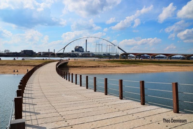 Loopbrug Spiegelwaal, Nijmegen