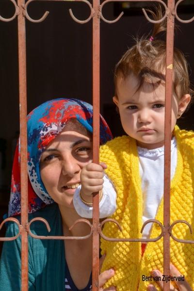 Moeder en kind, Istanbul