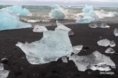 IJsblokken gletsjermeer, IJsland