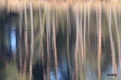 Kleurige waterstrepen