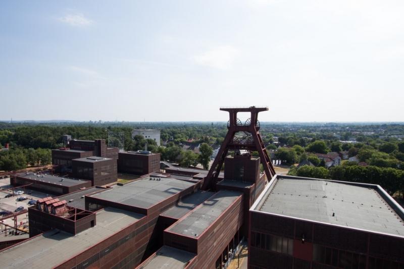 Hans Haarsma, Zeche Zollverein