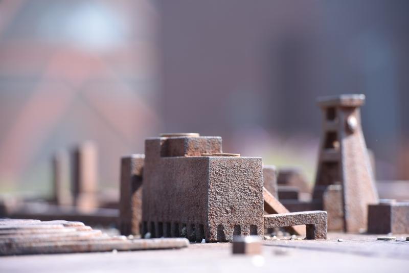 Ans Heisen: Zeche Zollverein