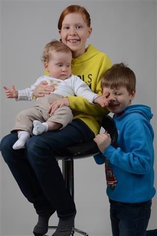 Iris, Teun en Mathijs