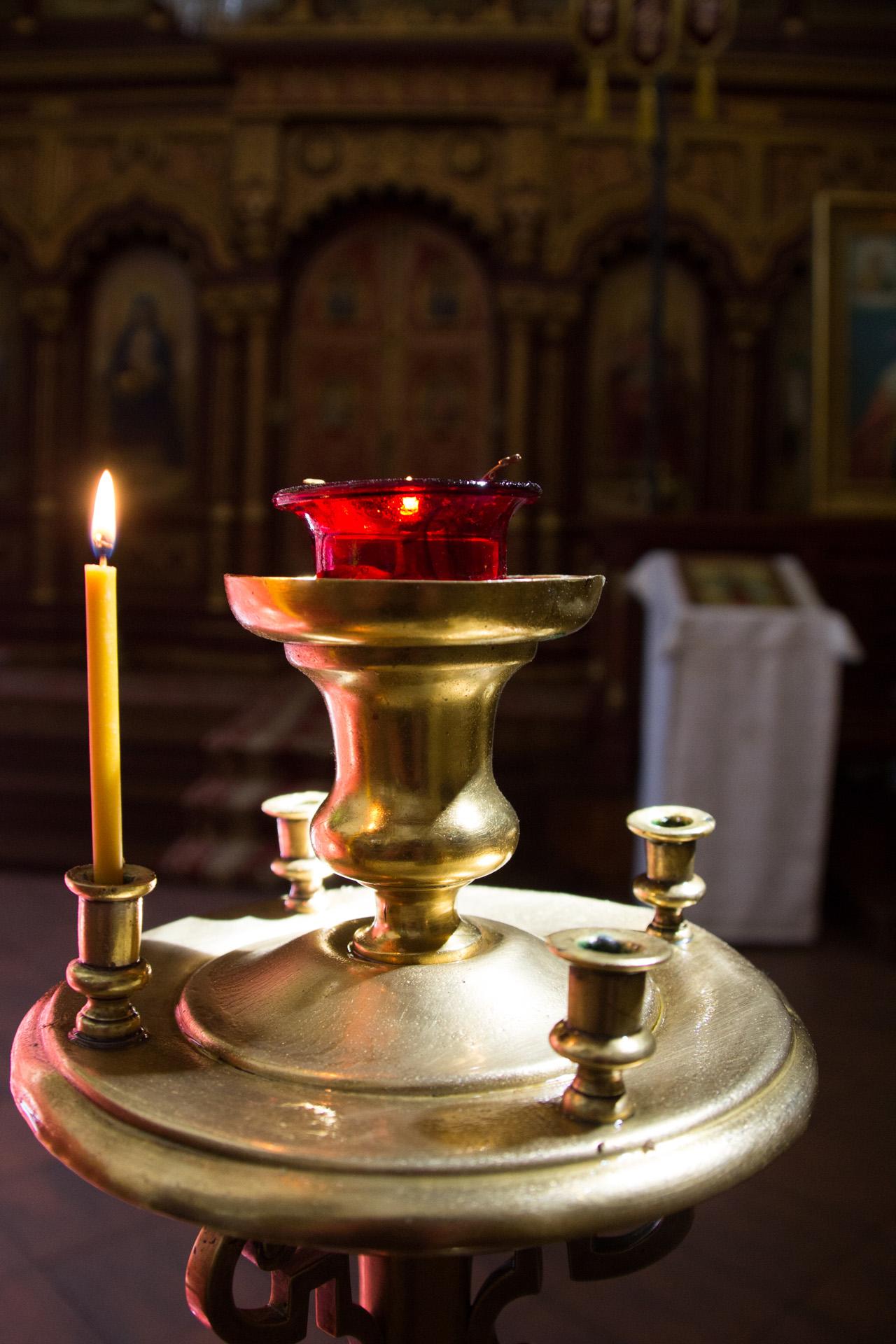 Fotograaf: Astrid Sanders 'In Russisch orthodoxe kerk'