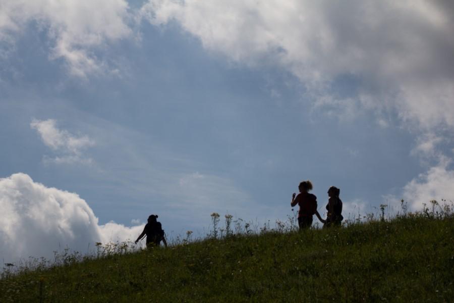 Fotograaf: Astrid Sanders 'Wandelen over de dijk'