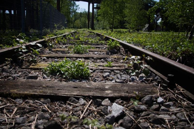 Fotograaf: Astrid Sanders 'Spoorlijn'