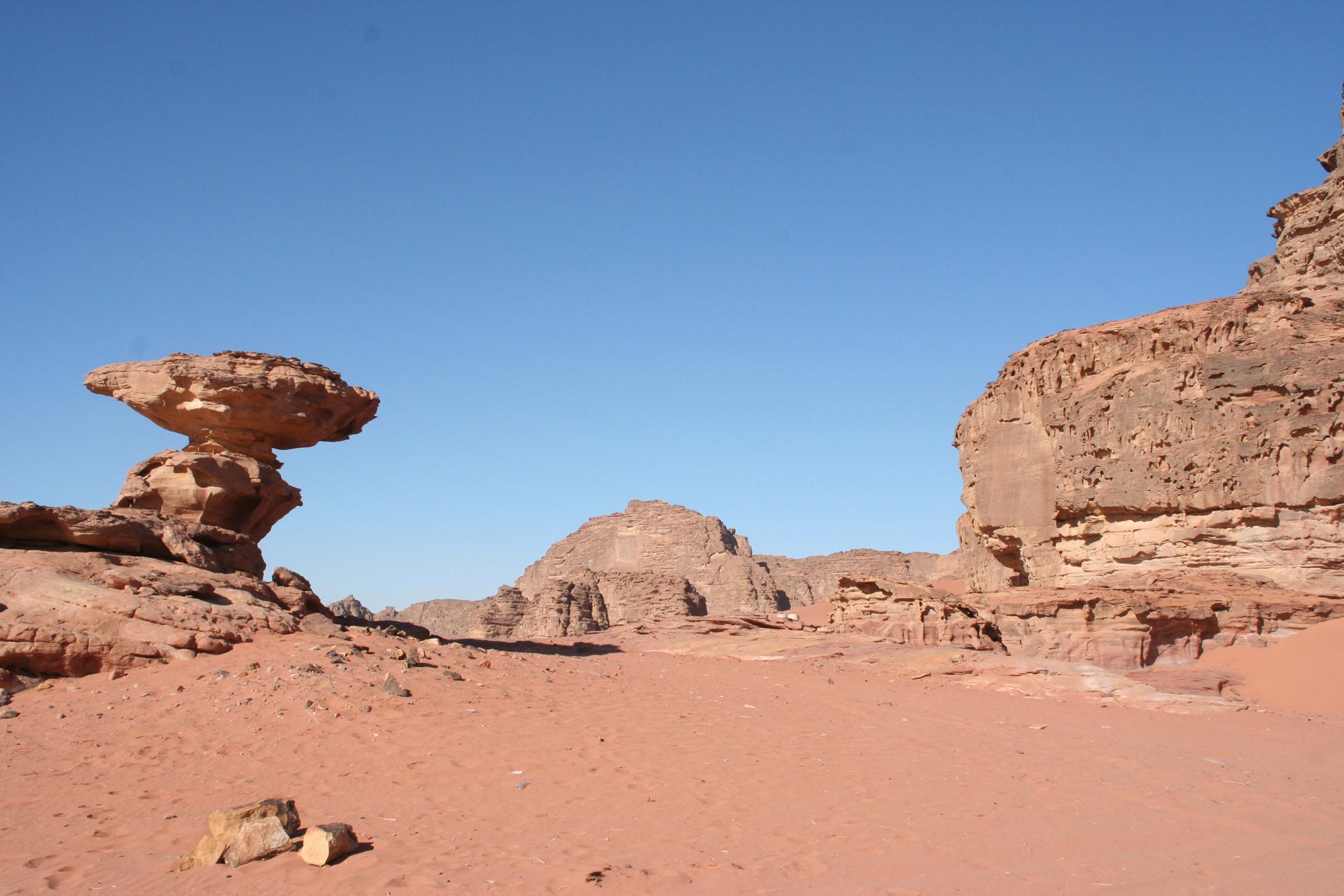 Fotograaf: Astrid Sanders 'Wadi Rum'