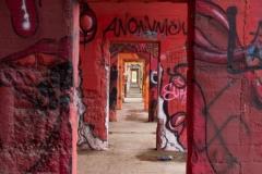 Fotograaf: Astrid Sanders 'Graffiti in Rheinpark'