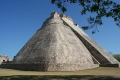 Fotograaf: Astrid Sanders 'Piramide Uxmal'