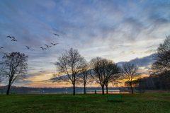 Zonsondergang-Plasmolen-Jeroen Hoogakker