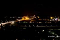 Nachtzicht op Nijmegen