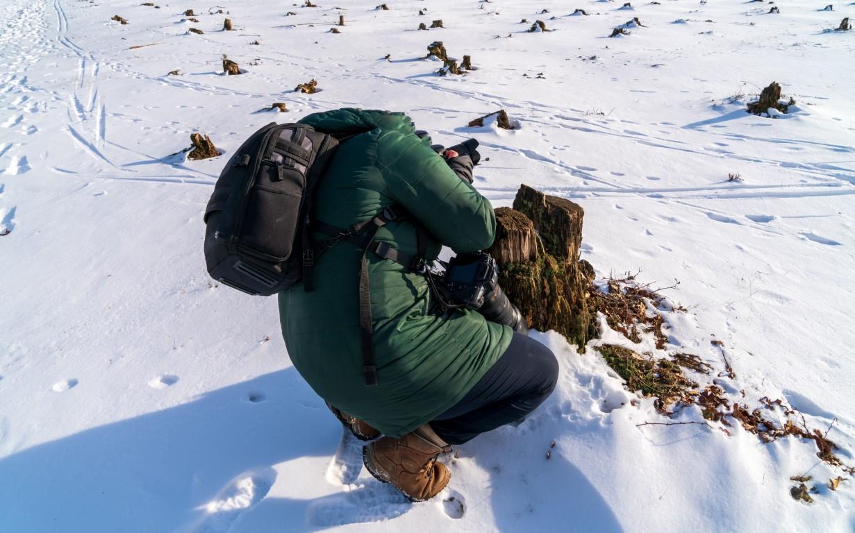 Jeroen Hoogakker-Karin cijfert zichzelf weg als ze fotografeert