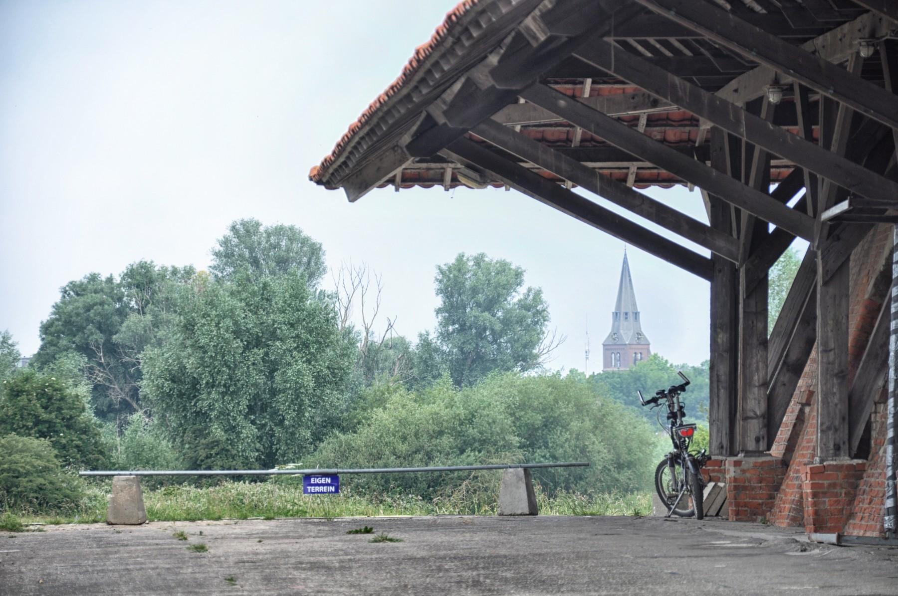 Bianca Dekkers-van Uden, doorkijkje bij de steenfabriek Uiterwaarden Wageningen