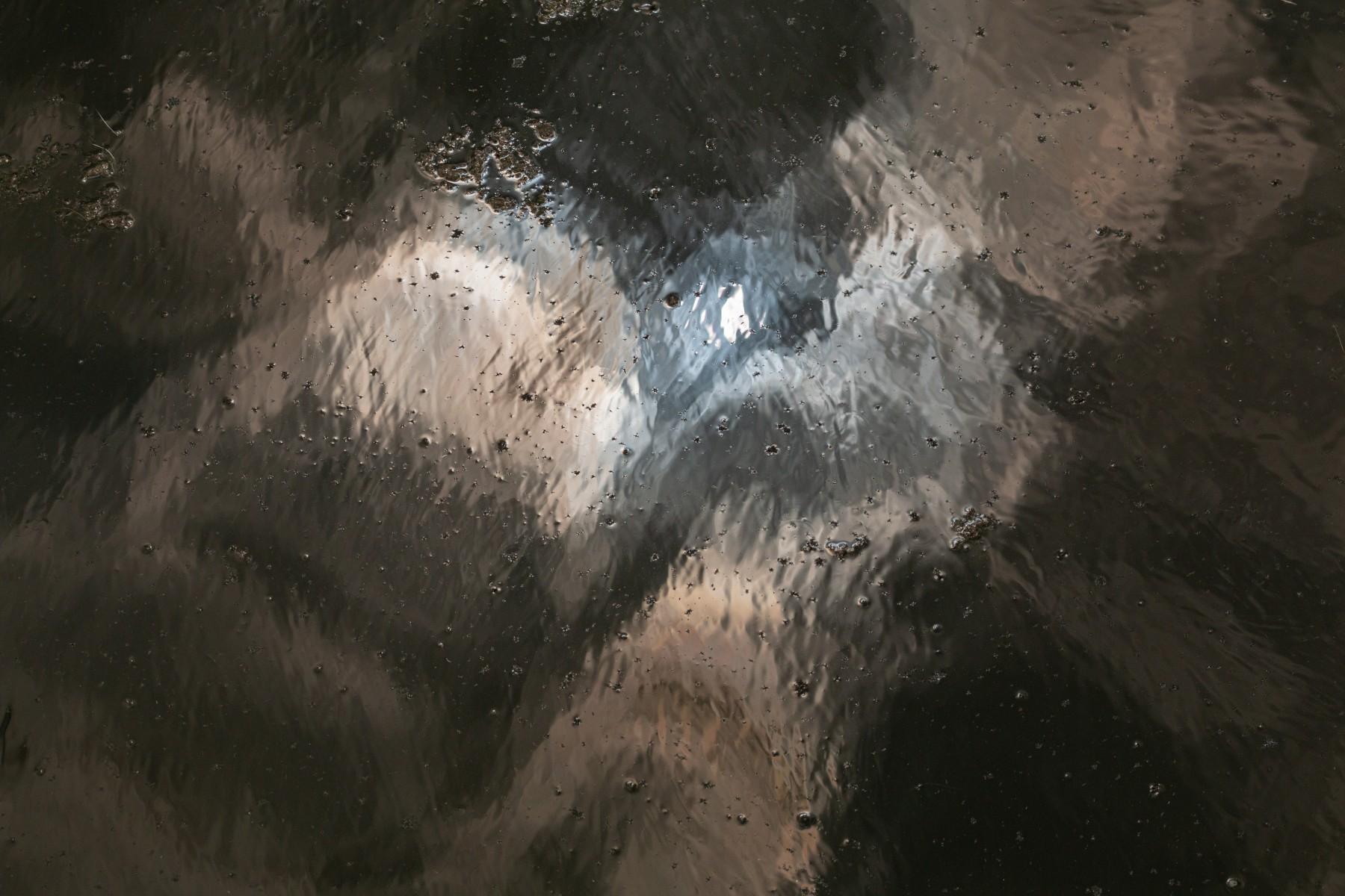 Inge Pfeil, Wageningse bovenpolder, weerspiegeling