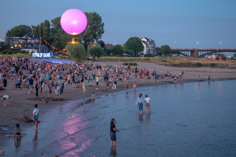 Bert van Zijderveld. Festival Eiland