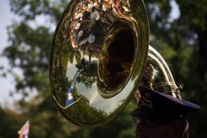 Fotograaf: Astrid Sanders 'Reflectie Via Gladiola'